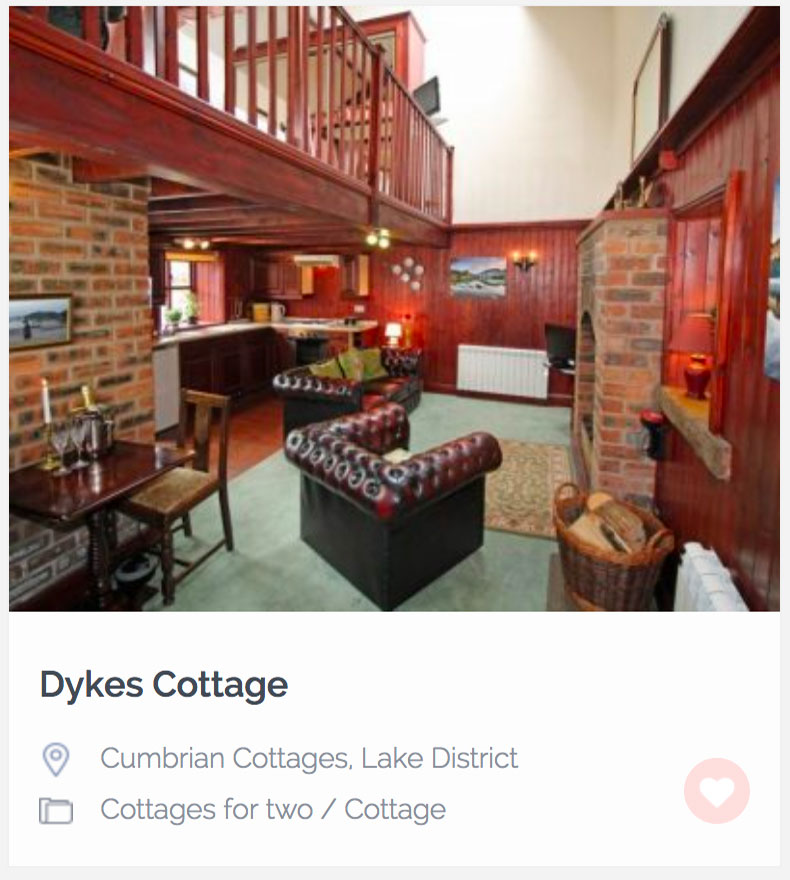 Dog Friendly Dykes Cottage